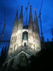 La Sagrada Familia, Catedral Gaudi, Barcelona